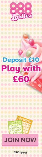 Play with £60 on £10 deposit